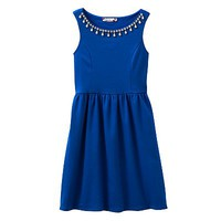 Speechless Jeweled Ponte Dress - Girls 7-16