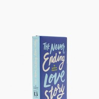 the never ending love story book clutch