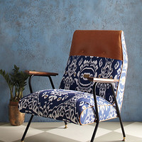 Midnight Ikat Chair