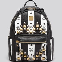MCM Backpack - Road To Paradise Striped Small