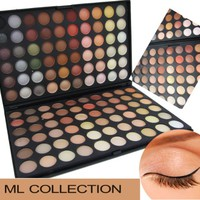 120 Color Eyeshadow Eye Shadow Palette Makeup Kit Set Make Up