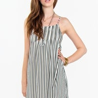 Frenchie Stripe Dress