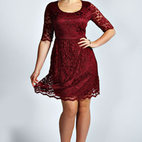 Ashley Lace Skater Dress