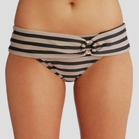 figleaves swimwear, Kasbah Stripe Fold Bikini Brief at figleaves.com