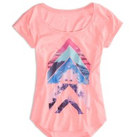 AEO FACTORY GRAPHIC DOLMAN T-SHIRT
