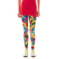 jcpenney - Sugar High Food Print Leggings - jcpenney