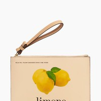via limoni medium bella wristlet
