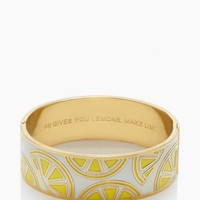 when life gives you lemons idiom bangle