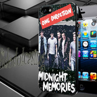 One Direction Midnight Memories Case For iPhone 4/4s, iPhone 5/5S/5C, Samsung S3 i9300, Samsung S4 i9500 *rafidodolcasing*