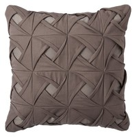 "Threshold™ Pintuck Toss Pillow (18x18"")"