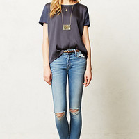 Mother Looker Ankle Fray Jeans Wild Thing