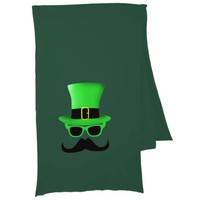 Cool Funny St. Patrick's Day Moustache Top hat