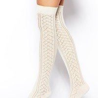 ASOS Pelerine Over The Knee Socks