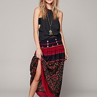 Free People Womens Love Reflection Skirt - Black,