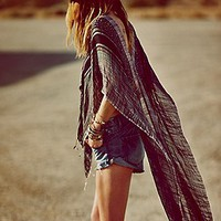 High Low Pullover Poncho