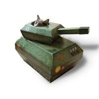 Tank Cat Playhouse (by Suck UK)