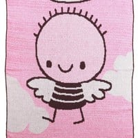 Lil' Angel Throw Blanket