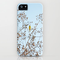 little yellow bird iPhone & iPod Case by RichCaspian
