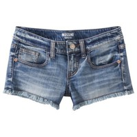 Mossimo Supply Co. Junior's Denim Short - Medium Wash