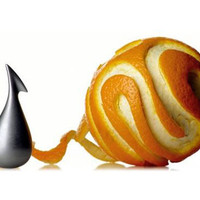 Alessi Apostrophe Orange Peeler at Velocity Art And Design