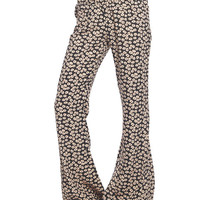 Floral Bell Bottom Pant | Wet Seal
