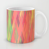 Re-Created Vertices No. 9 Mug by Robert S. Lee
