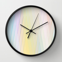 Re-Created Vertices No. 11 Wall Clock by Robert S. Lee