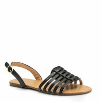More Adventurous Faux Leather Sandals