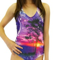iHeartRaves Sunset Paradise Bodysuit