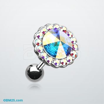 Studded Gem Crystal Cartilage Earring