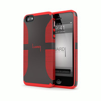 Dual Rubber & Plastic Case for iPhone 5s & 5