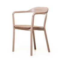 The Future Perfect - Duet Chair, Timber Seat - New
