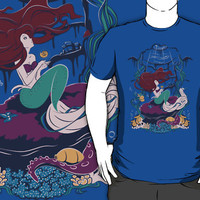 A Mermaid's Wish T-Shirts & Hoodies