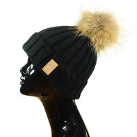 Fur Pom Beanies | Created by Fortune