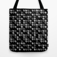 Toothless Black and White Tote Bag by Project M
