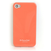 Dorothy Premium Hard Case for iPhone 4 / 4S - Peach
