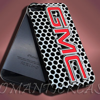 New GMC Silver Truck - iPhone 4/4s/5c/5s/5 Case - Samsung Galaxy S3/S4 Case - Black or White