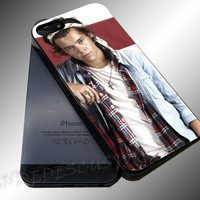 Harry Styles Bandana One Direction - iPhone 4/4s/5c/5s/5 Case - Samsung Galaxy S3/S4 Case iPod 4/5 Case - Black or White