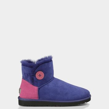 Buy Womens' Mini Bailey Button Neon Boots Online | UGG® Australia