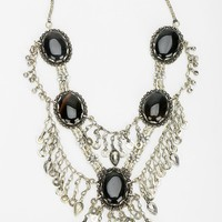 Silk Road Designs Stone Statement Necklace - Urban Outfitters