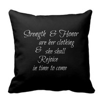 Strength & Honor are Her Clothing Bible Verse