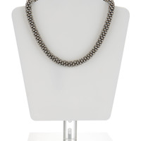 Bobble Round Necklace | Silver | Accessorize