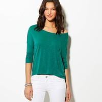 AEO Women's Cropped Dolman T-shirt