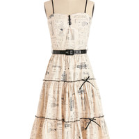 Bernie Dexter Make it Needlework Dress | Mod Retro Vintage Dresses | ModCloth.com