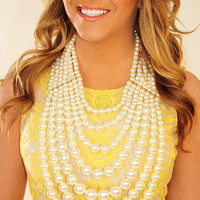 Beautiful Way Necklace: Pearl