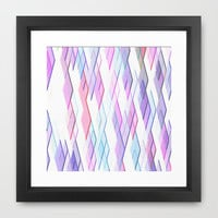 Re-Created Vertices No. 13 Framed Art Print by Robert S. Lee