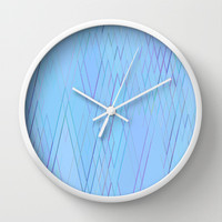 Re-Created Vertices No. 15 Wall Clock by Robert S. Lee