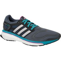 adidas Women's Energy Boost Running Shoes - Size: 11, Blue/silver
