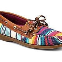 Cloud Logo Serape Authentic Original 2-Eye Boat Shoe