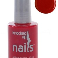 Maternity Safe Nail Polish – Nail for Pregnancy – Creme Red : Knocked Up Nails
